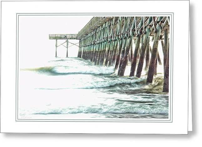 2nd Avenue Pier In Myrtle Beach Greeting Card by Barry Monaco