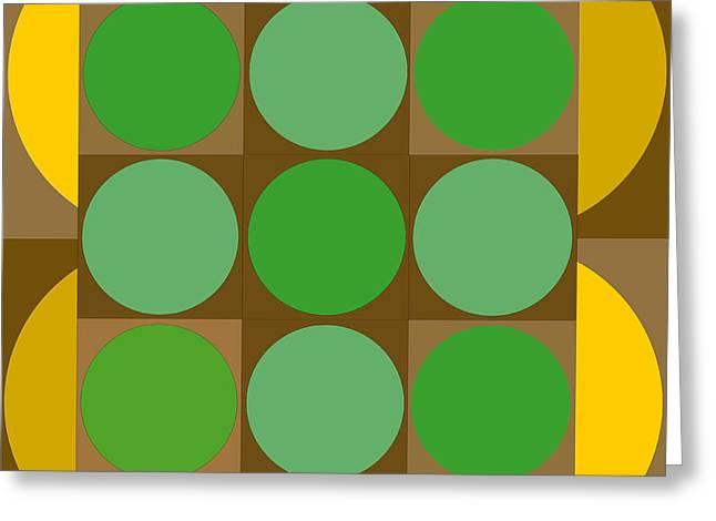 2x2vasarelyh Greeting Card by Robert Van Es