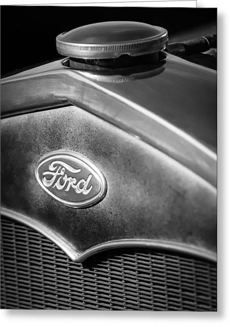 1931 Ford Grille Emblem Greeting Card