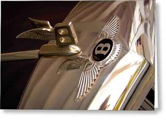 1956 Bentley S1 Greeting Card