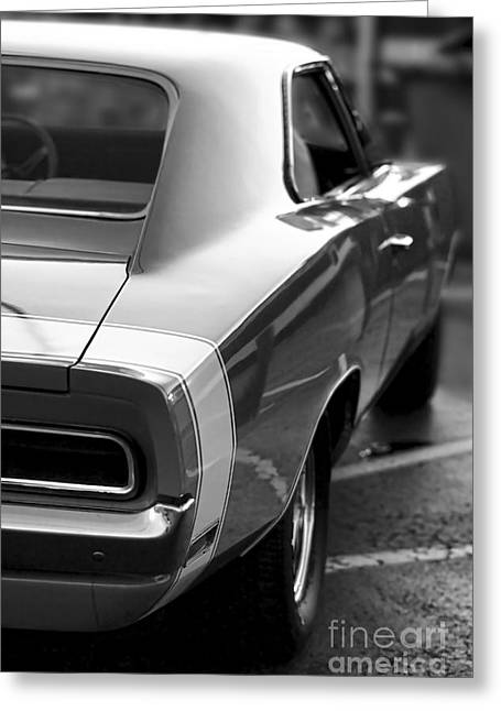 1969 Dodge Charger Greeting Card
