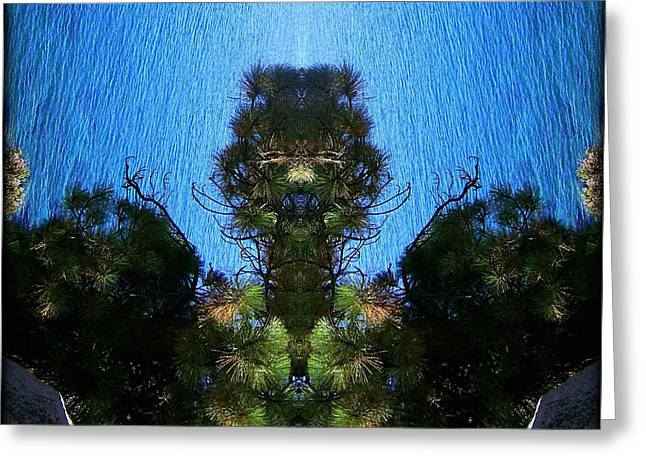 Abstract 50 Greeting Card by J D Owen