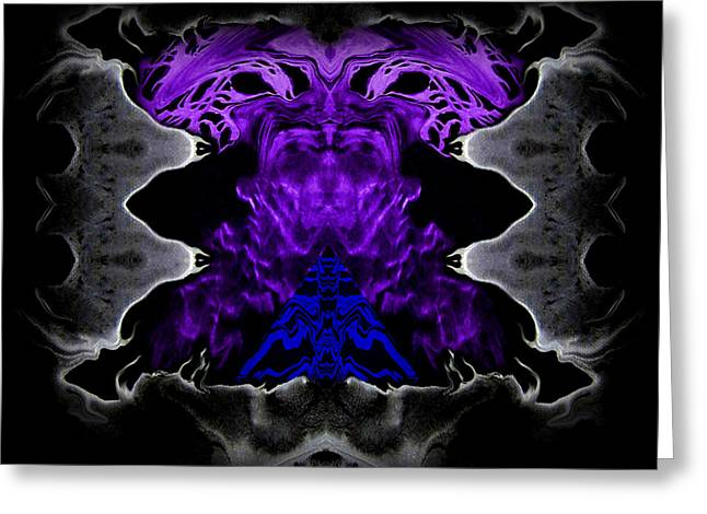 Abstract 83 Greeting Card by J D Owen