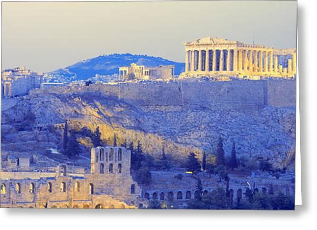 Acropolis, Athens, Greece Greeting Card