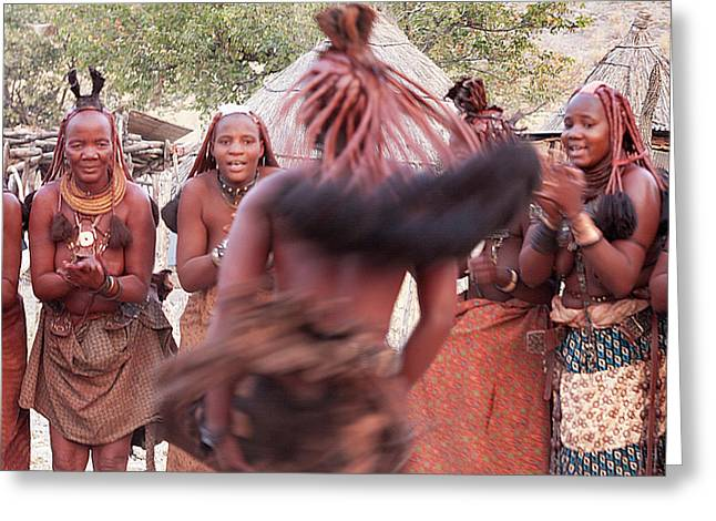 Africa, Namibia, Opuwo Greeting Card by Jaynes Gallery