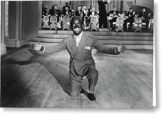 Al Jolson (1886-1950) Greeting Card by Granger