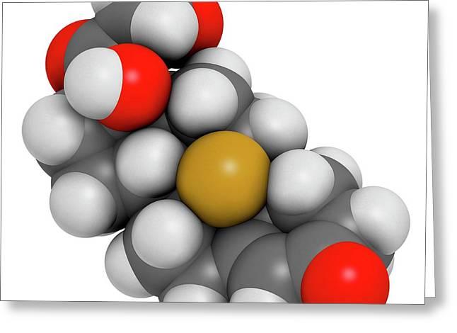 Aldosterone Hormone Substitution Drug Greeting Card