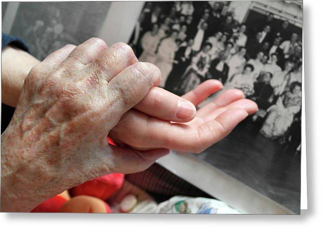 Alzheimer's Patient Greeting Card