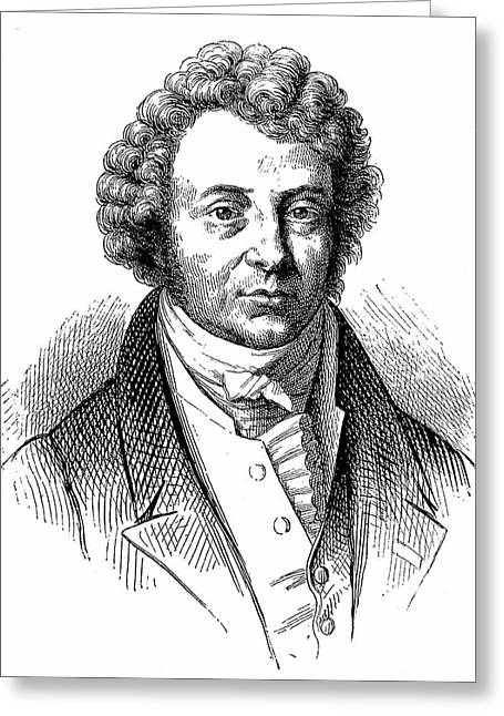 Andre-marie Ampere Greeting Card