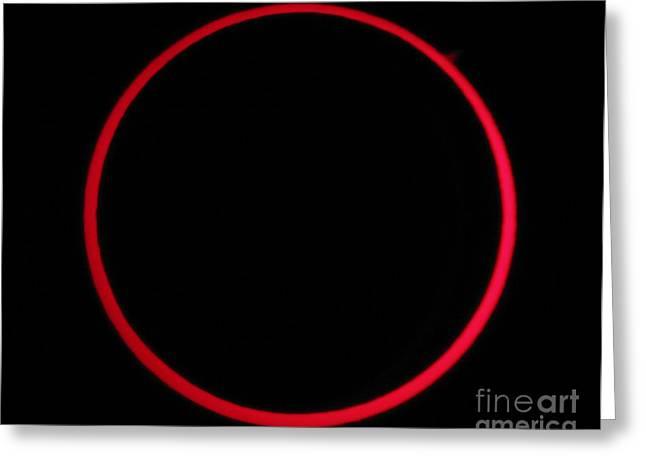 Annular Solar Eclipse Greeting Card
