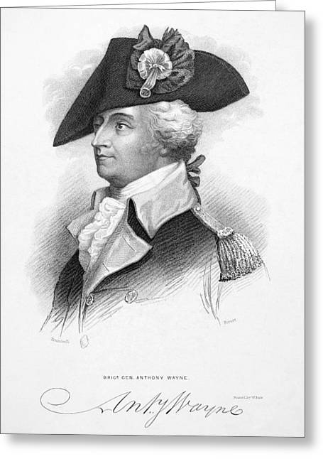 Anthony Wayne (1745-1796) Greeting Card by Granger
