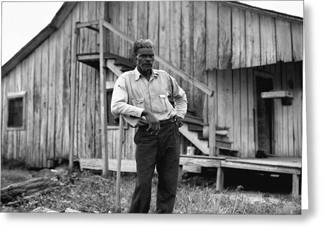 Arkansas Sharecropper Greeting Card