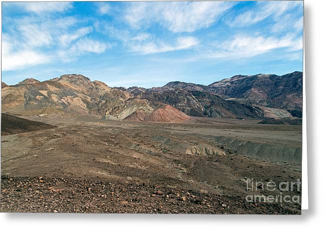 Artist Drive Death Valley National Park Greeting Card