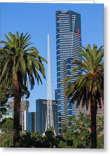Australia, Victoria, Melbourne Greeting Card by Walter Bibikow