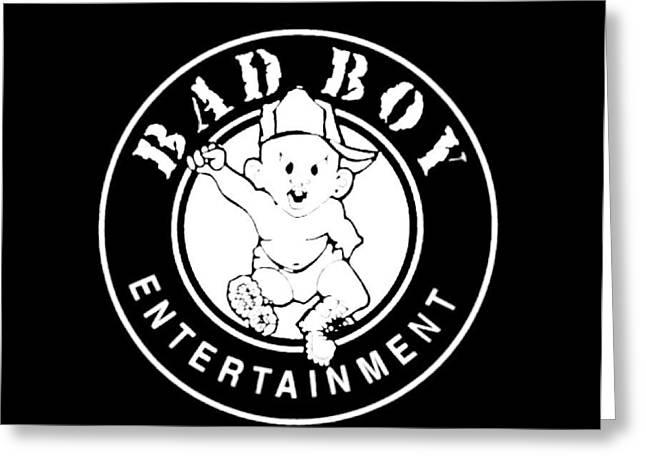 Bad Boy Greeting Card by Bad  Boy