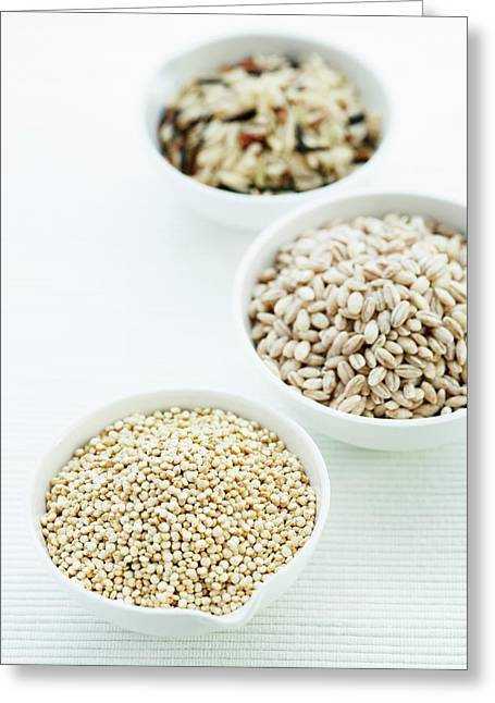 Barley Greeting Card by Gustoimages