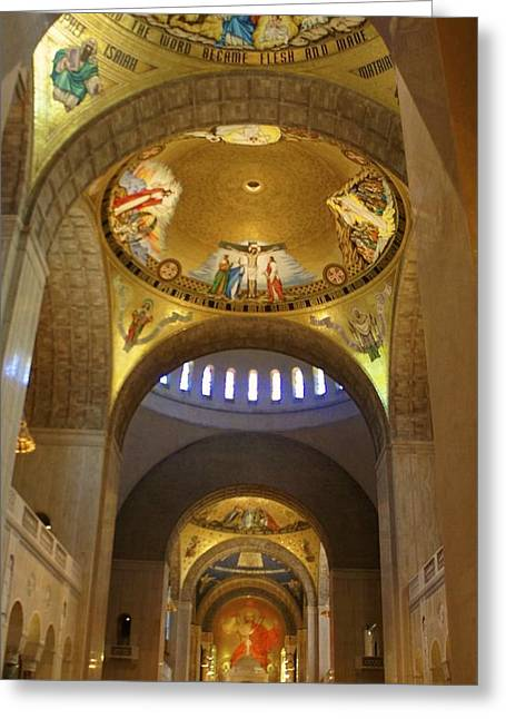 Basilica Of The National Shrine  Greeting Card