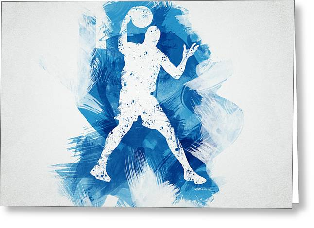 Basketball Player Greeting Card