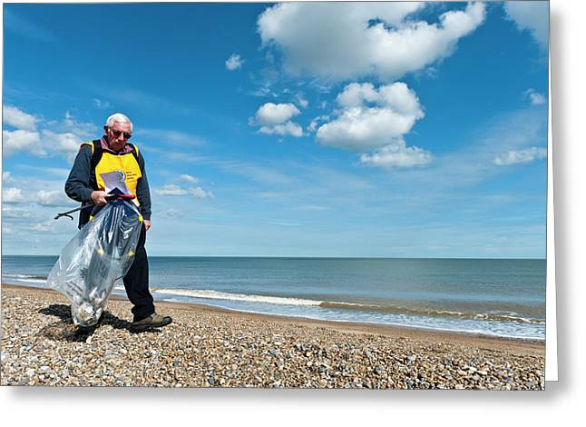 Beach Clean-up Greeting Card