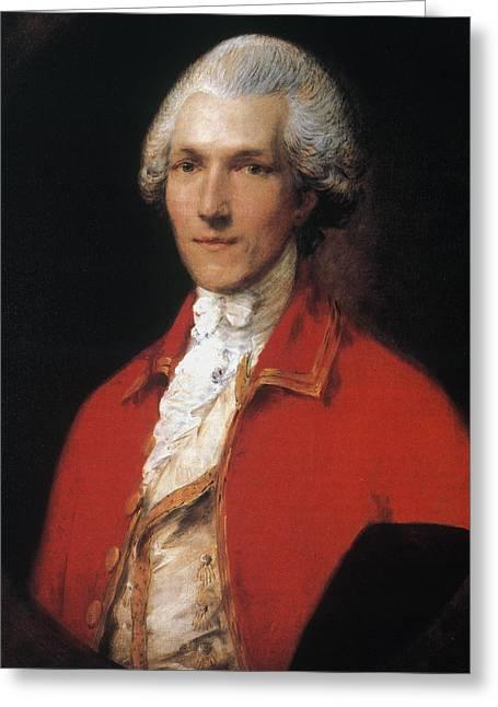 Benjamin Thompson (1753-1814) Greeting Card