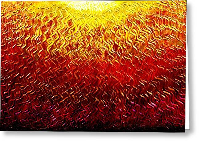 Best Art Choice Award Original Abstract Oil Painting Modern Contemporary House Wall Deco Gallery Greeting Card by Emma Lambert