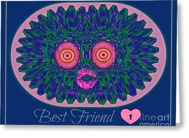 Best Friend Greeting Card by Meiers Daniel