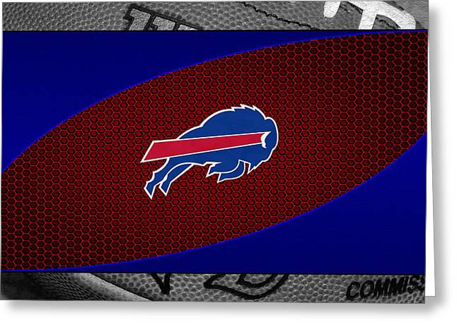 Buffalo Bills Greeting Card by Joe Hamilton