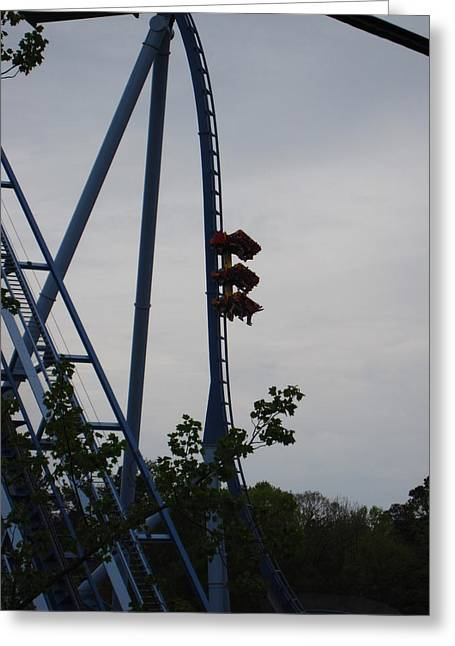 Greeting Card featuring the photograph Busch Gardens - 12122 by DC Photographer