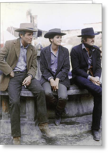 Butch Cassidy And The Sundance Kid  Greeting Card
