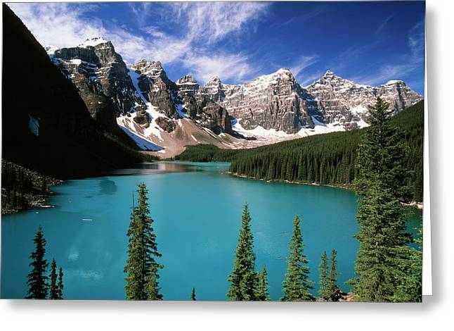 Canada, Alberta, Banff National Park Greeting Card