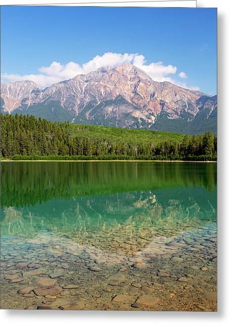Canada, Alberta, Jasper National Park Greeting Card by Jamie and Judy Wild