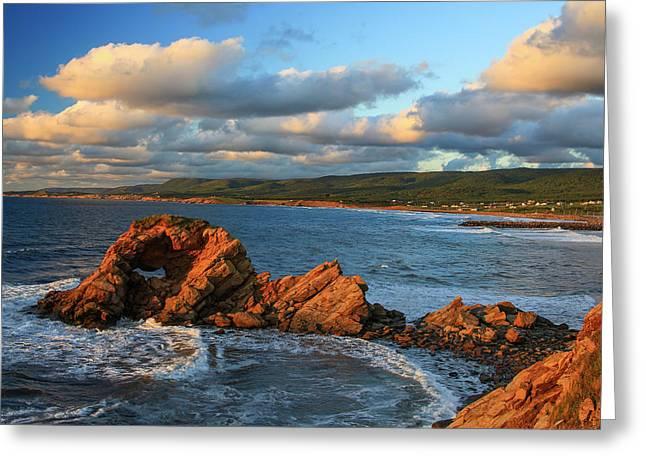 Canada, Nova Scotia, Cape Breton, Cabot Greeting Card