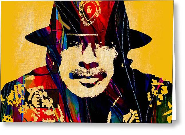 Carlos Santana Collection Greeting Card