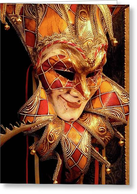 Carnivale Mask 1 Greeting Card