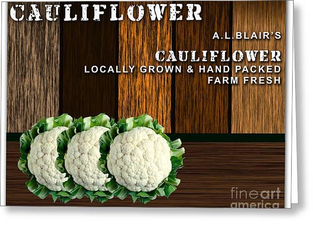 Cauliflower Farm Greeting Card