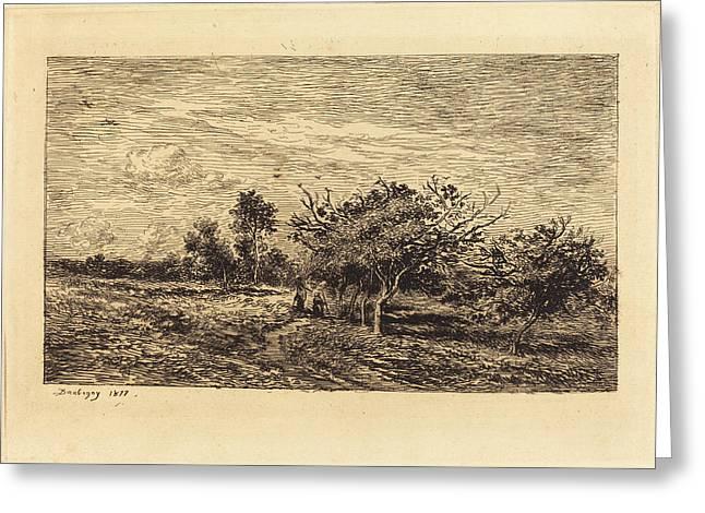 Charles-françois Daubigny French, 1817 - 1878 Greeting Card