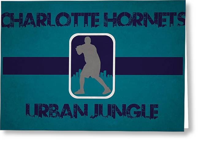 Charlotte Hornets Greeting Card