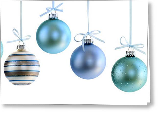 Christmas Ornaments Greeting Card by Elena Elisseeva