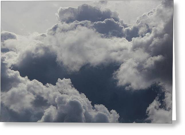 Cloudscape Greeting Card by Ron Romanosky
