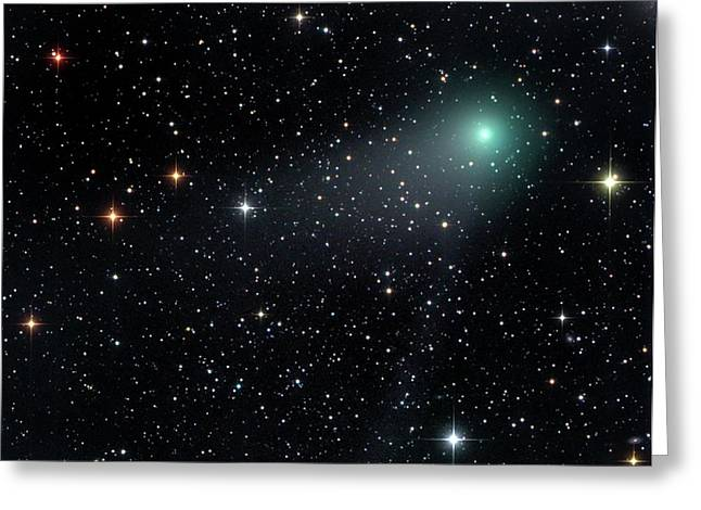 Comet C2012 F6 Greeting Card