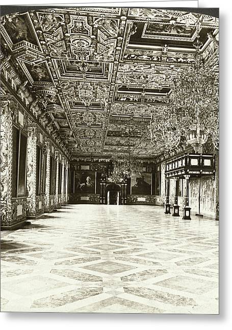 Copenhagen Royal Palace Greeting Card