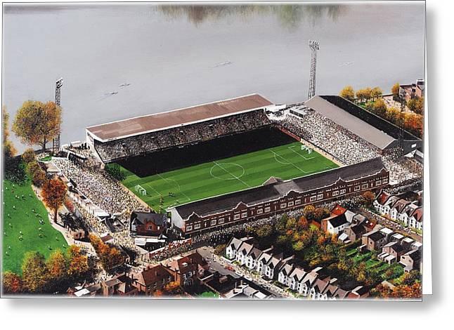 Craven Cottage - Fulham Greeting Card