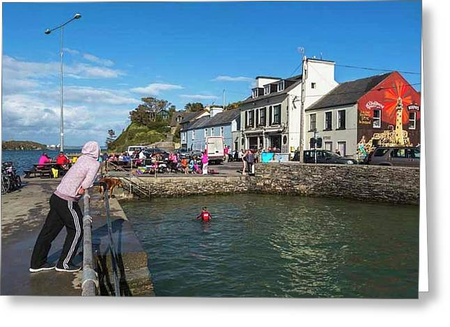 Crookhaven, Ireland Greeting Card by Ken Welsh