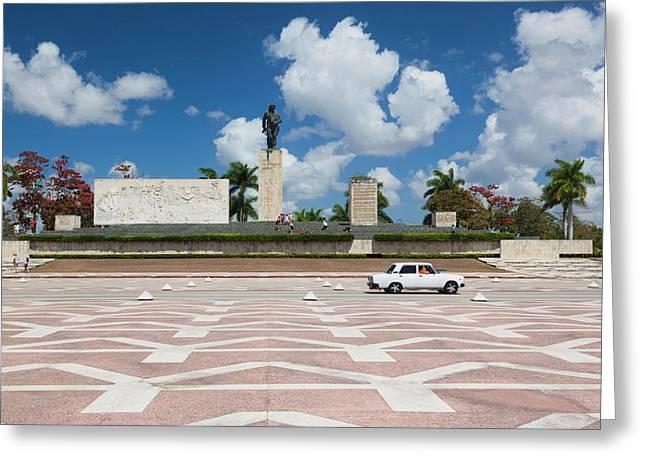 Cuba, Santa Clara Province, Santa Greeting Card