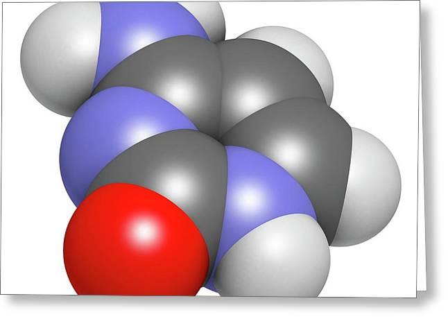 Cytosine Pyrimidine Nucleobase Component Greeting Card by Molekuul