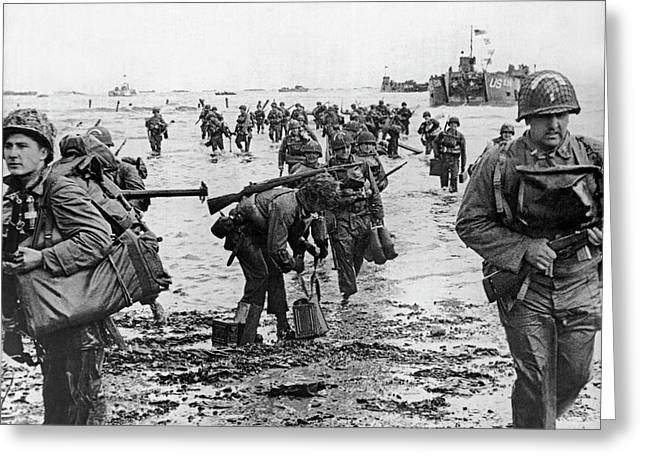 D-day Invasion Greeting Card