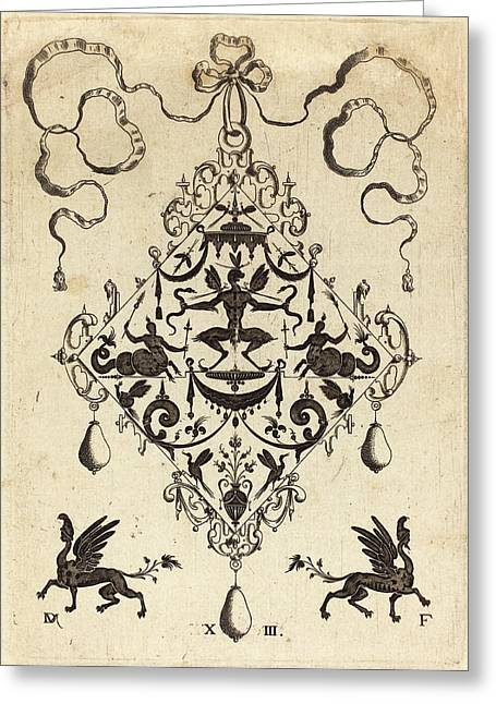 Daniel Mignot German, Active 1593-1596 Greeting Card by Quint Lox