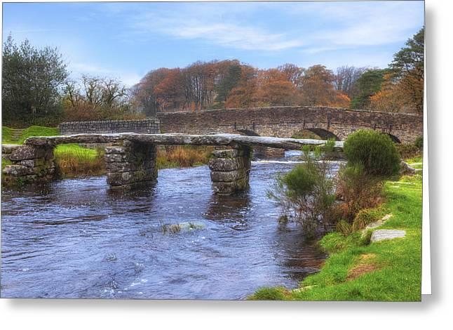Dartmoor - Postbridge Greeting Card by Joana Kruse