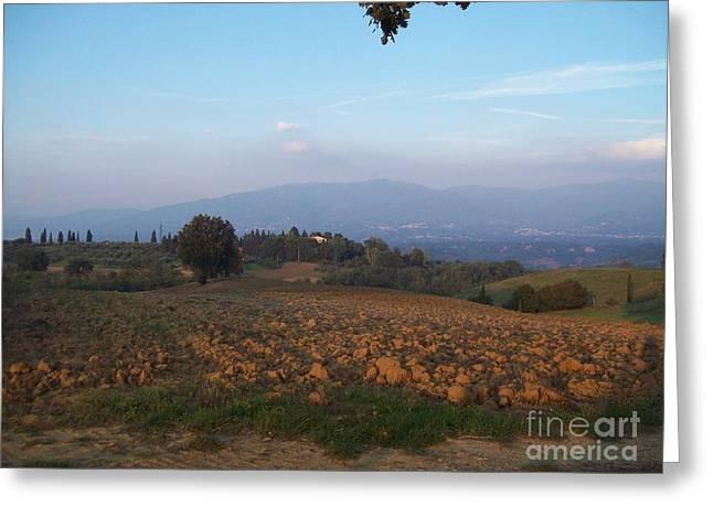 Dawn In Loppiano Greeting Card