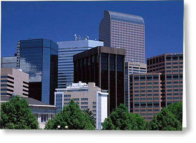 Denver Co Greeting Card by Panoramic Images